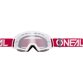 O'Neal B-20 Goggles, flat ruby red/white-clear